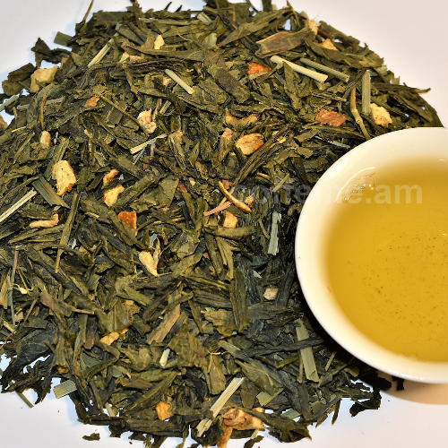 Կանաչ թեյ իմբիրով